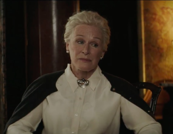 Glenn Close discusses her latest role