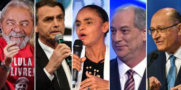 Ibope aponta liderança de Lula, vice-liderança de Bolsonaro e Marina, Ciro e Alckmin embolados.