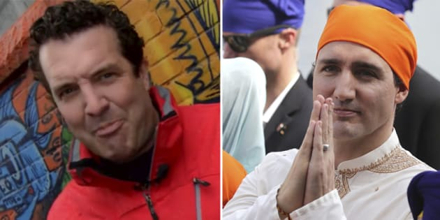 """Comedian Rick Mercer dedicated his latest """"Rick Mercer Report"""" rant segment to Prime Minister Justin Trudeau's recent trip to India."""