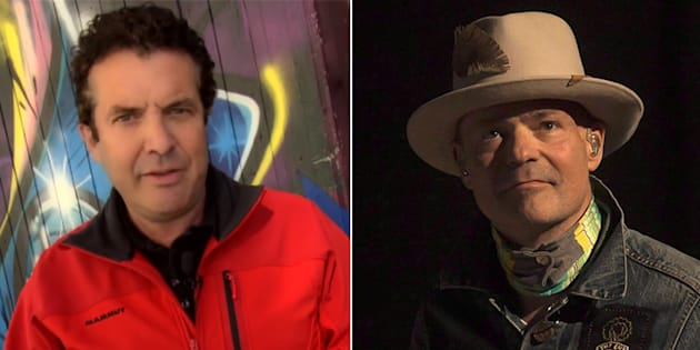 CBC comedian Rick Mercer told a story on his show about a phone call he had with Gord Downie.