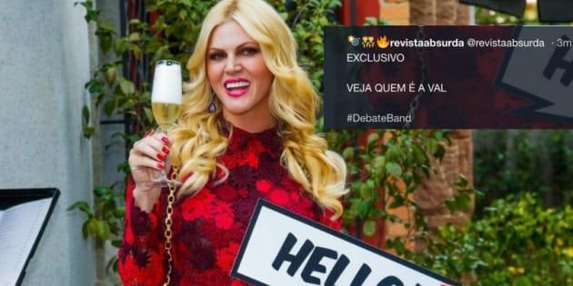 A internet responde quem é Val, pergunta de Boulos a Bolsonaro.