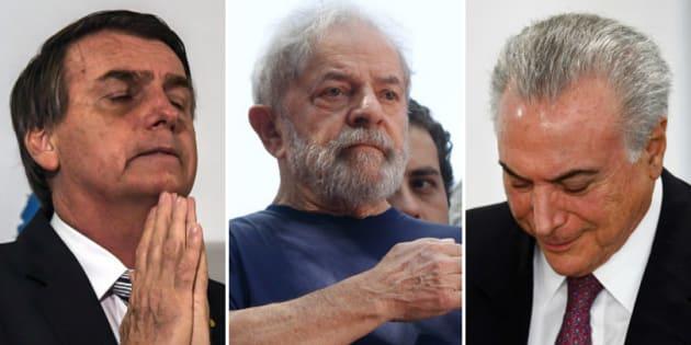 Bolsonaro ferido, Lula preso, Temer combalido: este é o Brasil a um mês da eleição.