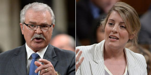 "Heritage Minister Melanie Joly said Conservative MP Gerry Ritz hasn't ""learned his lesson"" about making inflammatory comments."
