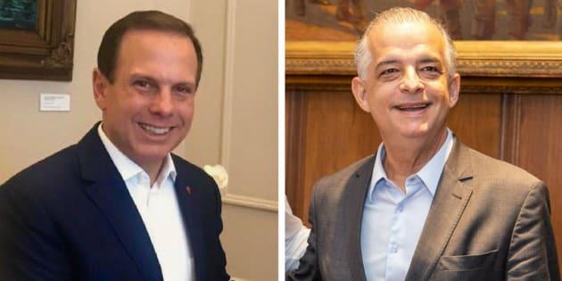 João Doria e Márcio França: ambos são pré-candidatos ao Governo de São Paulo.
