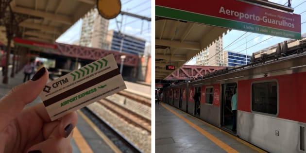 Testamos o Airport Express, o trem que vai da Luz para o Aeroporto de Guarulhos