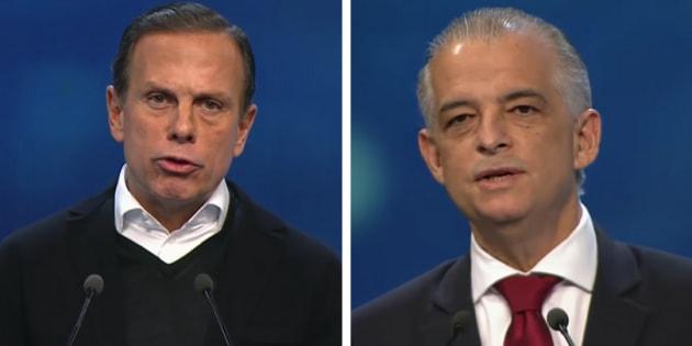 João Doria e Márcio França disputam o segundo turno da eleição para o governo de São Paulo.