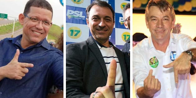 Dos governadores do partido de Jair Bolsonaro, um é representante do agronegócio e os outros dois de forças de segurança.