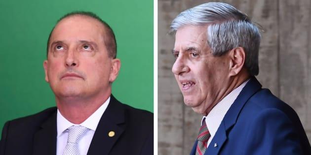 """""""Cobrem dele [Onyx], não é minha função"""", disse general Augusto Heleno, ministro do Gabinete de Segurança Institucional."""