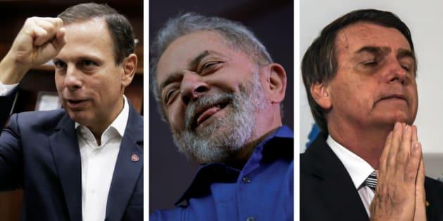 O prefeito de São Paulo quer unir forças para barrar o crescimento de Lula e Jair Bolsonaro nas pesquisas presidenciais.