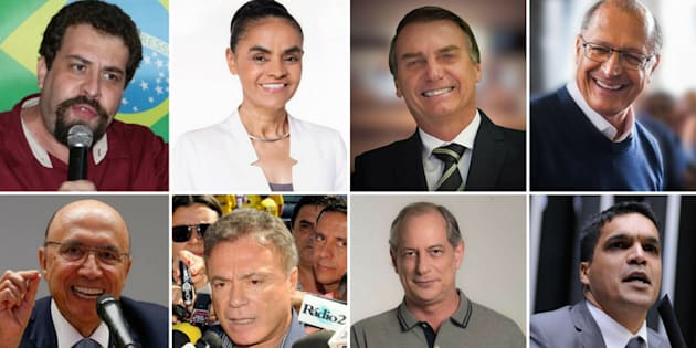 No total, 8 presidenciáveis participaram do debate da Band.