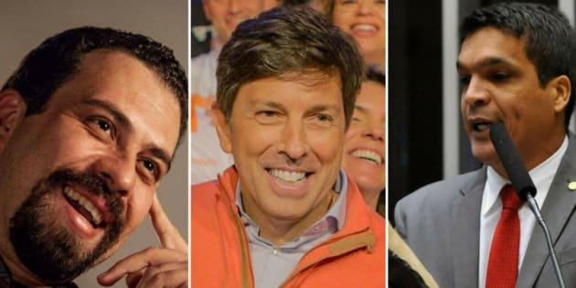 Guilherme Boulos (PSol), João Amoêdo (Novo) e Cabo Daciolo (Patriota) já declararam patrimônio ao TSE.