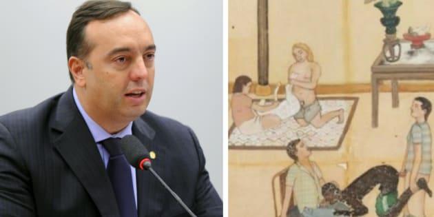 Projeto de Lei 8740/17, do deputado Delegado Francischini (SD-PR), torna crime nudez em trabalhos artísticos.