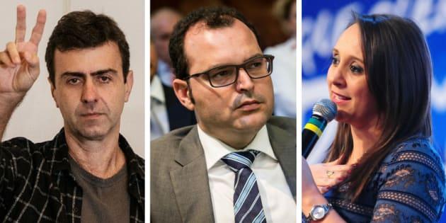 Partidos pequenos diversificam estratégia para atingir cláusula de barreira. Apostas são Marcelo Freixo (PSol), Marco Marrafon (PPS) e Renata Abreu (Podemos).