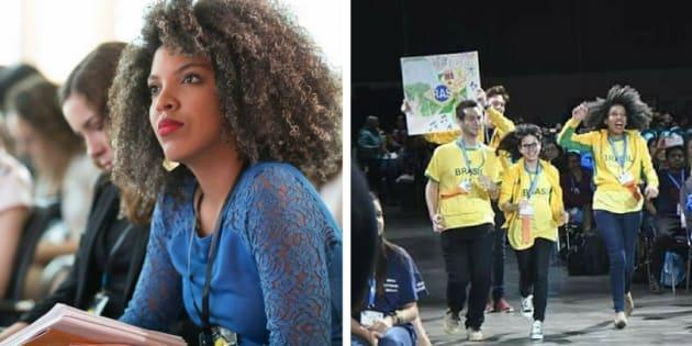 Lorenna Vilas Boas que ampliar o acesso de meninas à ciência e tecnologia.