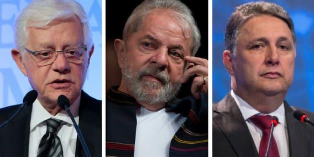 Ministro Moreira Franco, ex-presidente Luiz Inácio Lula da Silva e ex-governador Anthony Garotinho ganharam apelidos de Leonel Brizola.