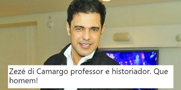As declarações um pouco contraditórias repercutiram nas redes sociais. Parece que até hoje, o Brasil desconhecia o mais novo historiador brasileiro.