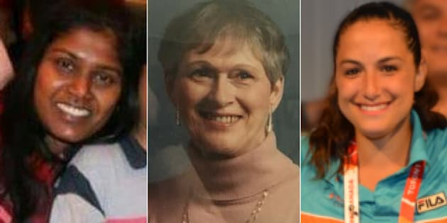 Renuka Amarasinghe, Dorothy Sewell, and Anne Marie D'Amico (left to right) were among the victims killed after a rampage in Toronto's Yonge and Finch area on April 23, 2018.