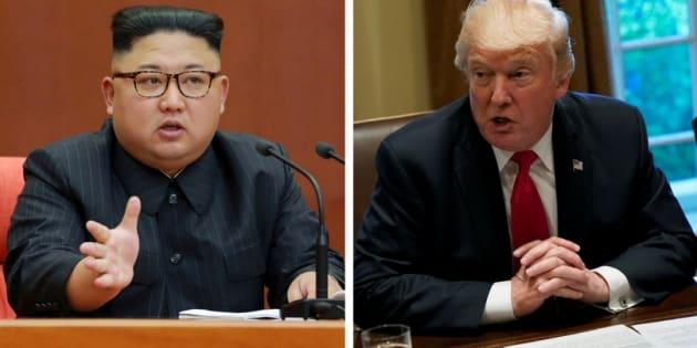 """""""Só uma coisa funcionará"""" contra a Coreia do Norte, afirma Trump; do outro lado, Kim Jong-un se orgulha de ter um programa que ajuda a """"defender sua soberania das ameaças dos Estados Unidos""""."""