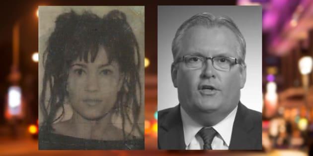 Nathalie St-Denis, vue dans une photo d'identification à l'université, allègue que son cousin, le député Yves St-Denis, l'a agressée sexuellement en 1988.