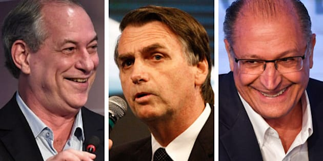 Ciro tem 40% das intenções de voto contra 37% de Bolsonaro em segundo turno. Alckmin ganharia do deputado por 38% a 27%.