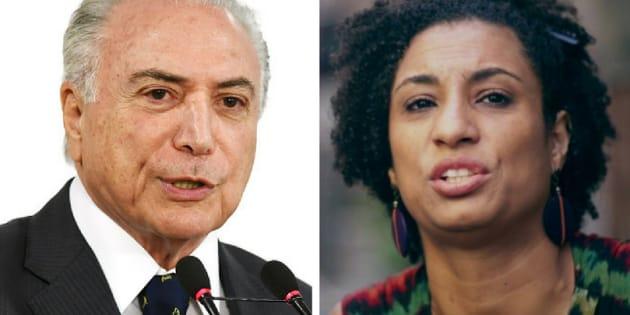Para governo de Michel Temer, assassinato da vereadora Marielle Franco (PSol) não muda intervenção federal no Rio de Janeiro.
