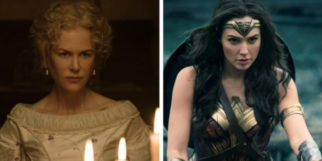 Os filmes 'Mulher Maravilha' e 'O Estranho que nós amamos' apagam personagens negras das histórias originais.