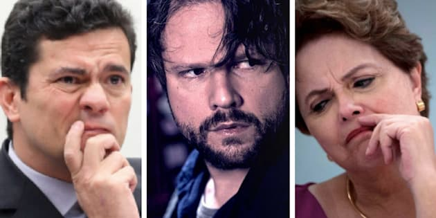 Sérgio Moro, Selton Mello (que interpreta um policial federal na trama), e Dilma Rousseff: A operação que ganhou o mundo do entretenimento.