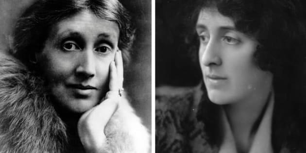 A escritora Virginia Woolf e a poeta Vita Sackville-West trocaram cartas apaixonadas.