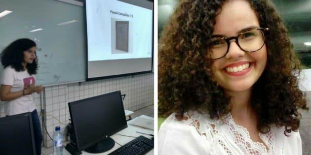 Soraya Roberta criou o Poesia Compilada, um projeto que ensina linguagem de programação por meio de poesias.