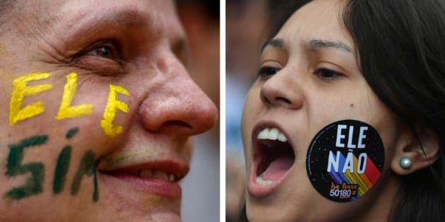 Ansiedade e tristeza permeiam o clima de polarização política.