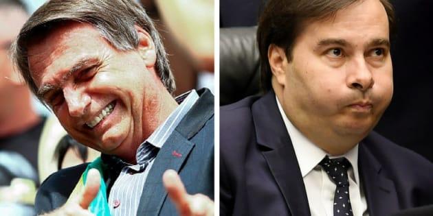 Pré-candidato do DEM ao Palácio do Planalto, Rodrigo Maia tenta atrair apoio do PR, mas ala do partido quer apoiar candidatura de Jair Bolsonaro.
