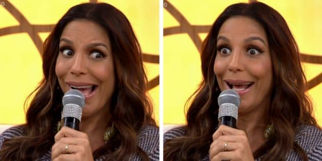 Ivete Sangalo falou sobre a gravidez de gêmeas.