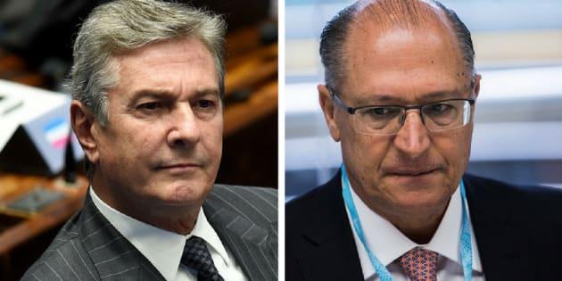 """Em fevereiro, Collor anunciou que entraria na disputa presidencial. Em seu discurso no plenário do Senado, ele afirmou que o Brasil precisava de """"um centro democrático""""."""