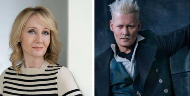 J.K Rowling apoia papel de Johnny Depp em 'Animais Fantásticos'