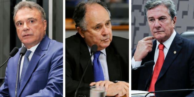 Senadores presidenciáveis se ausentam da votação da intervenção no estado do Rio.