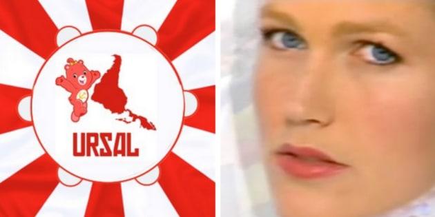 Foi desmascarado o hino da Ursal e -- pasmem! -- ele foi criado em 1992 por ninguém menos que Xuxa.