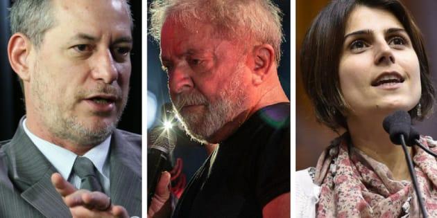 Presidenciáveis se dividem sobre condenação do ex-presidente Luiz Inácio da Silva em segunda instância.