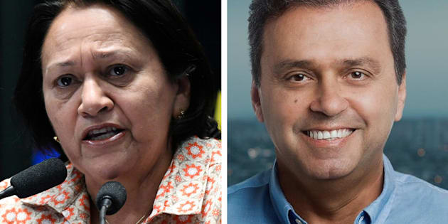 Resultado de imagem para haddad bolsonaro fatima bezerra carlos eduardo