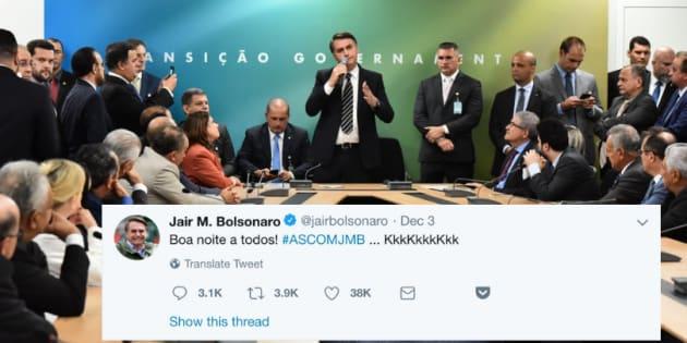 Autoridades indicadas para integrar o futuro governo aderem ao estilo Bolsonaro e apostam no Twitter.