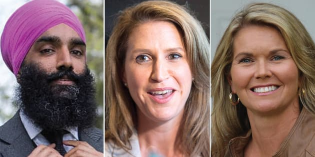 L to R: Incoming Ontario MPPs Gurratan Singh, Caroline Mulroney and Jill Dunlop all have family members with current or past political careers.