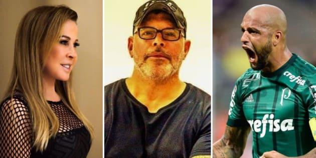 Zilu, Frota e Melo votam em Jair Bolsonaro.