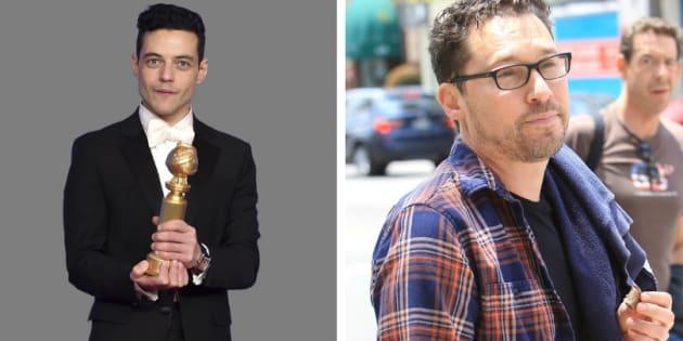 O ator Rami Malek sequer citou Bryan Singer em seu discurso no Globo de Ouro. O diretor usou o Instagram para agradecer o prêmio.