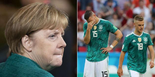 Alemães estão em sofrimento político e esportivo.