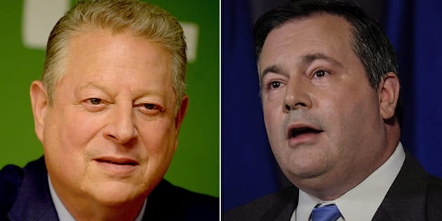 "Former U.S. Vice President Al Gore's (R) comments about Alberta's oilsands irked Jason Kenney, who slammed him as someone who ""defines the meaning of hypocrisy."""