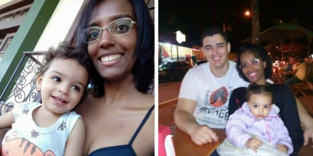 Jamille Edaes é negra e foi acusada de sequestrar a própria filha.