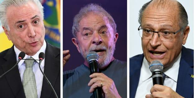 MDB de Michel Temer, PT de Lula e PSDB de Geraldo Alckmin receberão 37% do Fundo Eleitoral.