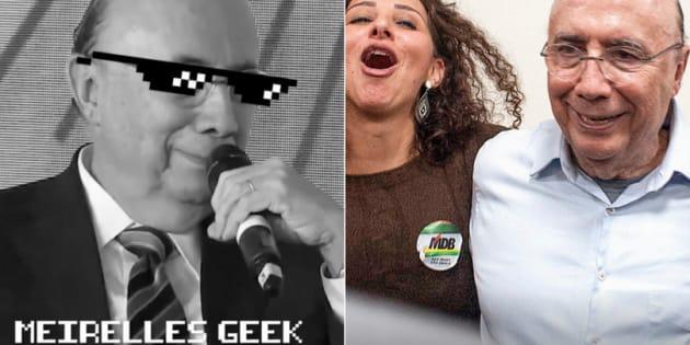 Henrique Meirelles não convenceu com sua versão geek bem-humorada.
