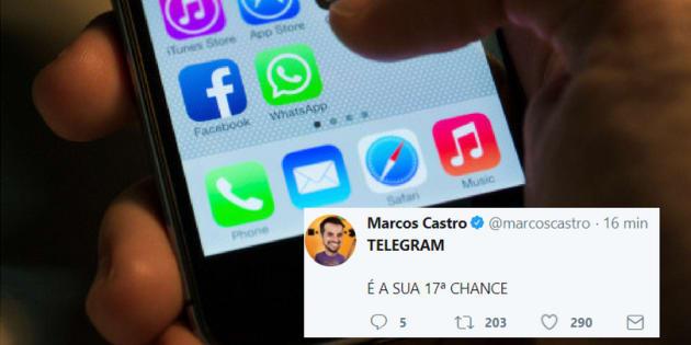 Os usuários do Whatsapp reclamaram da instabilidade do aplicativo nesta quinta-feira (30).