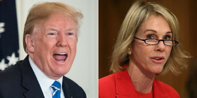 U.S. Ambassador to Canada Kelly Craft was asked to share with the Macdonald-Laurier Institute what U.S. President Donald Trump is like in-person during a gala on Fe. 13, 2018.