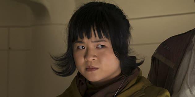 """Kelly Marie Tran joue Rose Tico dans """"Star Wars 8 : Les Derniers Jedi"""""""